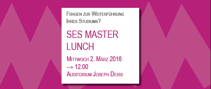 SES MASTER LUNCH 2016