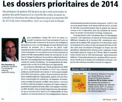 Article de presse Prof. Davoine