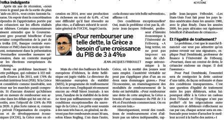 Article de presse Prof Friboulet