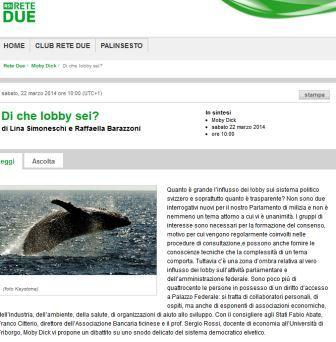 Article de presse Prof Rossi