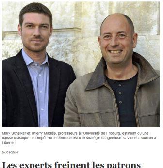 Article de presse Prof Madiès