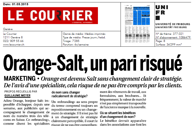 Orange-Salt, un pari risqué