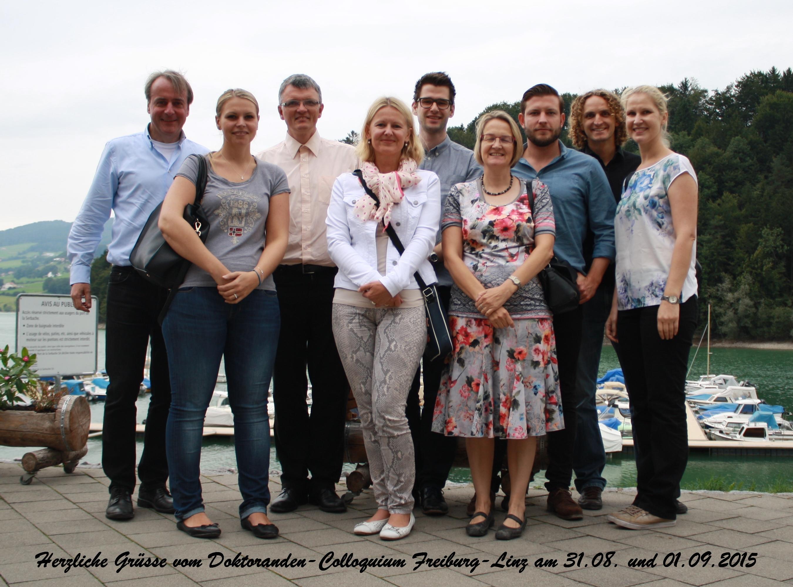 Die zwei befreundeten Forschungsinstitute der Johannes Kepler Universität Linz zu Besuch am VMI