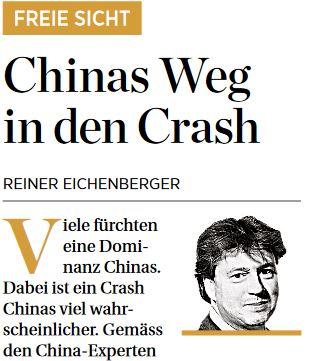 Chinas Weg in den Crash