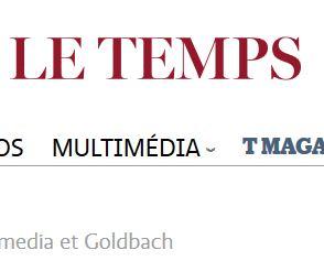 Menace sur la fusion entre Tamedia et Goldbach
