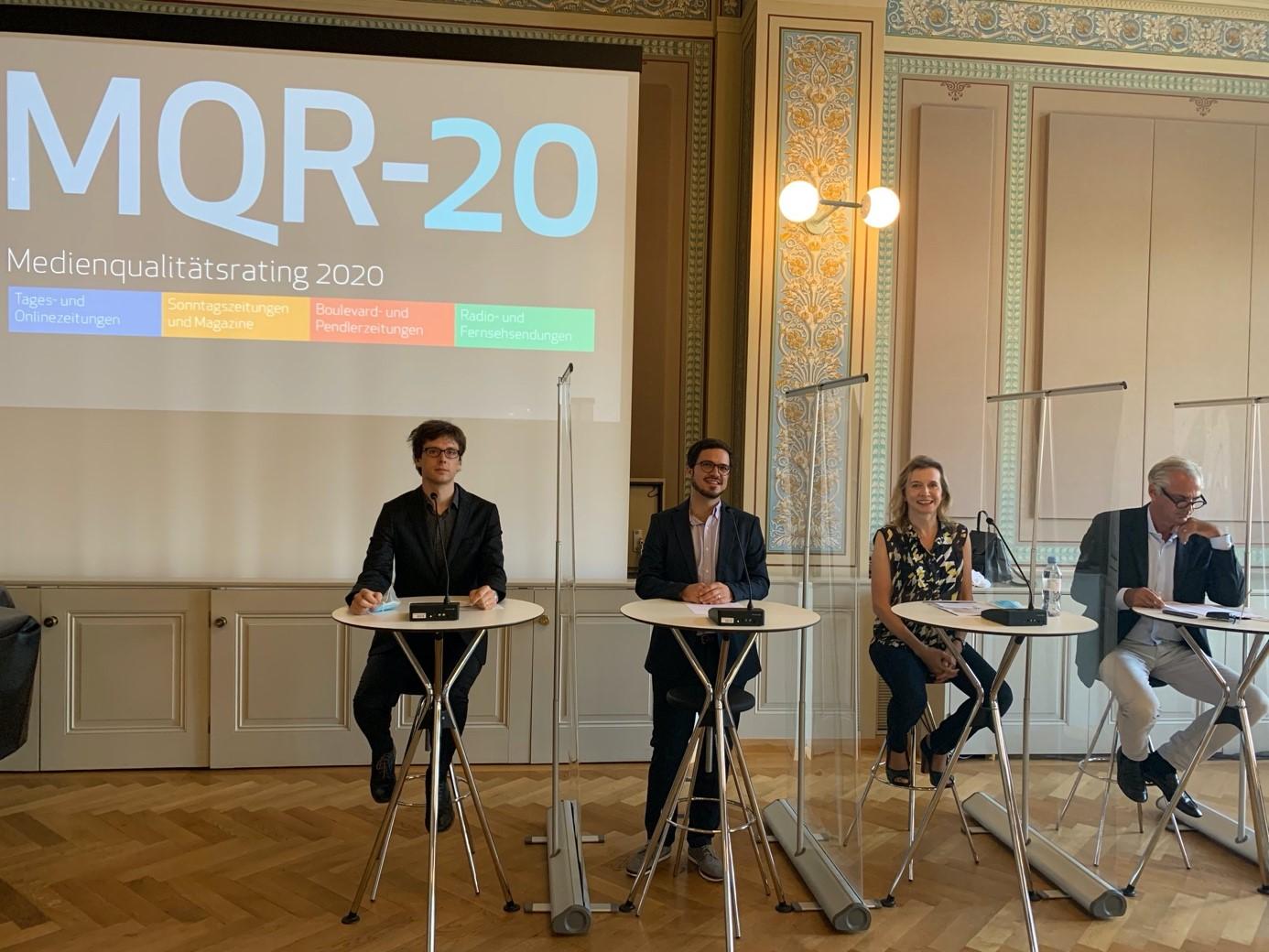 2.Präsentation der dritten Ausgabe des Medienqualitätsratings Schweiz