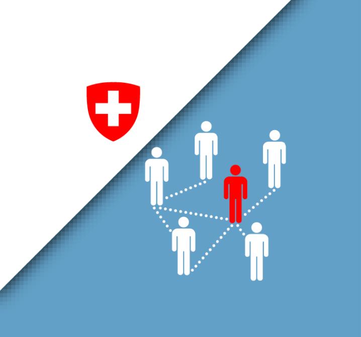 La Suisse avec le coronavirus